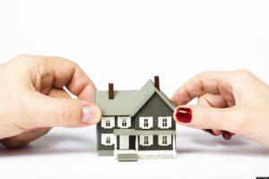 определение долей при разделе имущетства